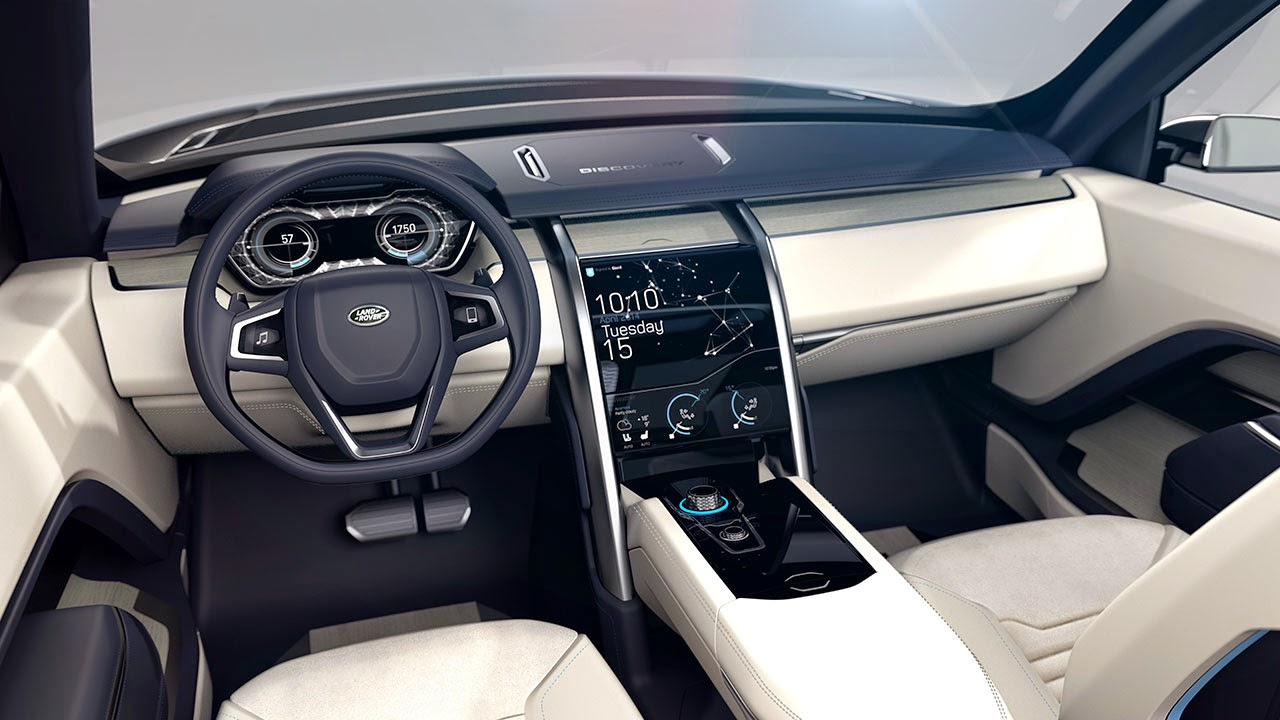 Land Rover Discovery Vision Concept dash