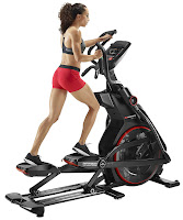 "Bowflex E116 BXE116 Elliptical Trainer, with 30 lb flywheel, 22"" stride length, Switch Select cushioning system, up to 10% incline, 20 magnetic resistance levels, 9 programs"