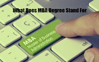 What does MBA Stand for ? - Definition of MBA