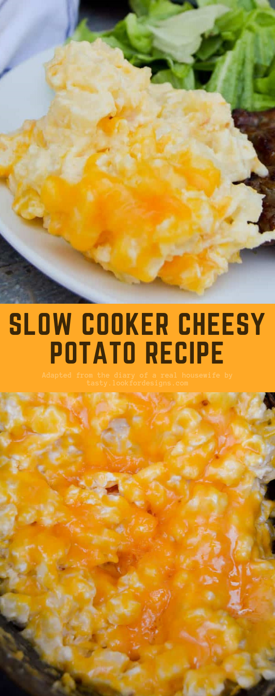 Slow Cooker Cheesy Potato Recipe