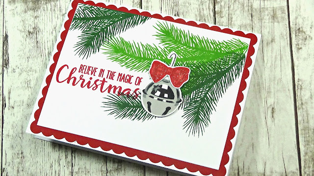 Holiday Style Christmas Card with video tutorial by Kari Webster