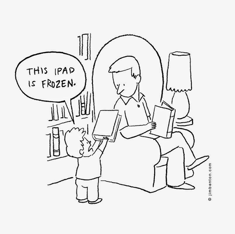 Chiste de Papa e hijos