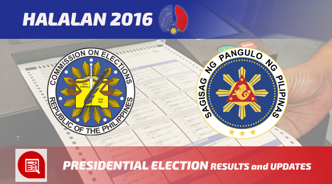 2016 Philippine Presidential Election Results and Updates - Exam