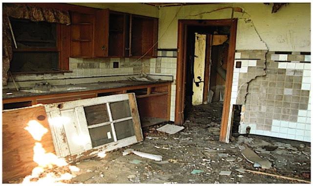 kitchen needing renovations
