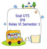 Soal UTS IPA Kelas 6 Semester 1