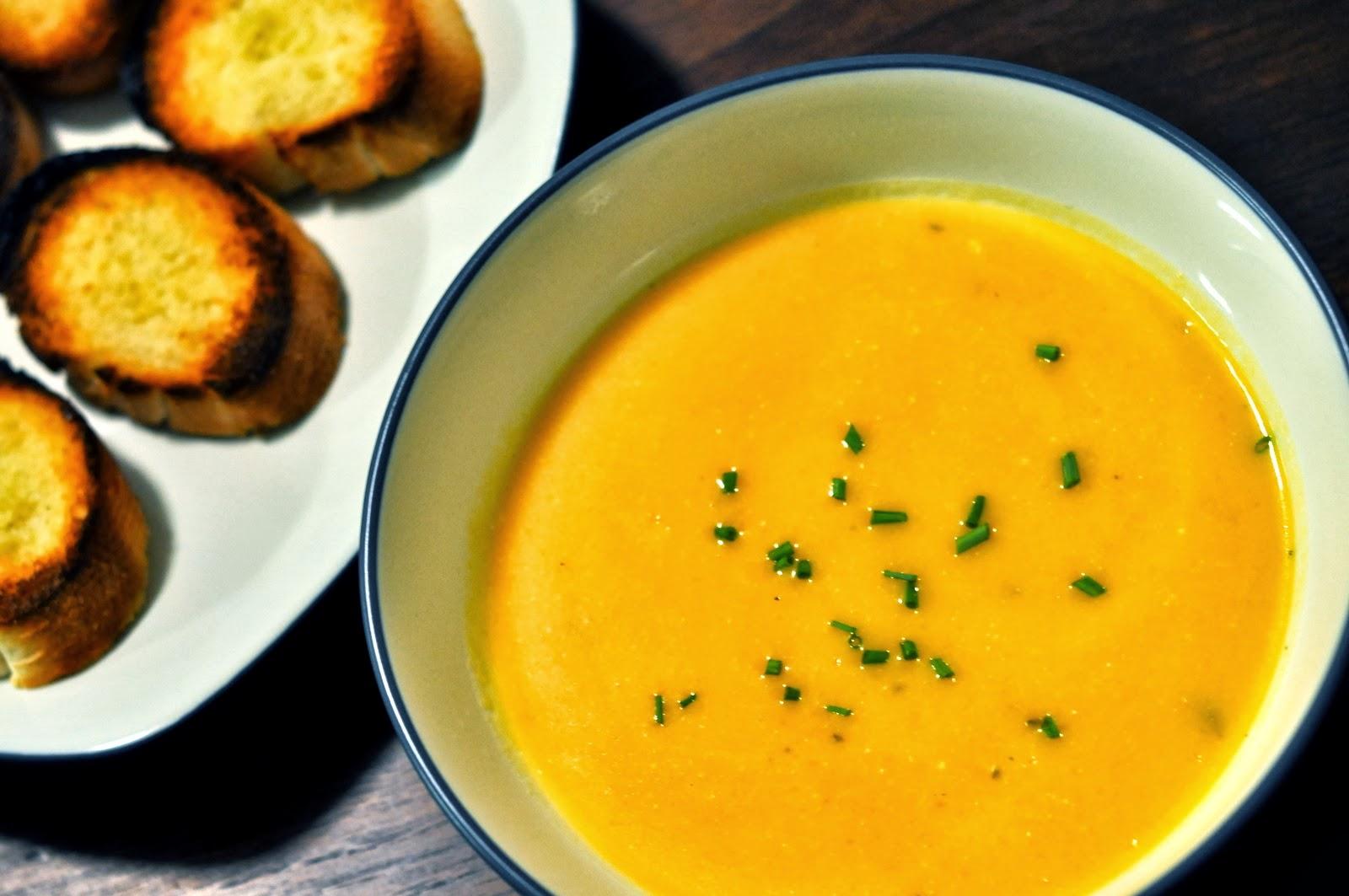 Roasted Butternut Squash Soup | Taste As You Go