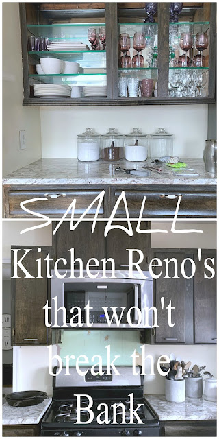 Small Kitchen renovations anyone can do that won't break the bank