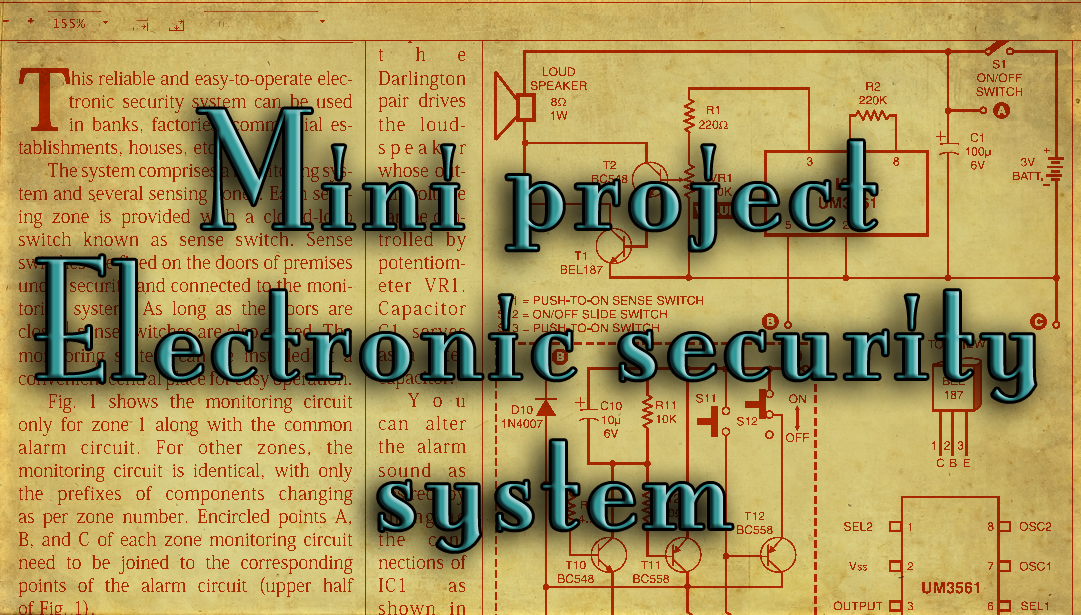 Advanced Electronics Mini Projects For Engineering Students