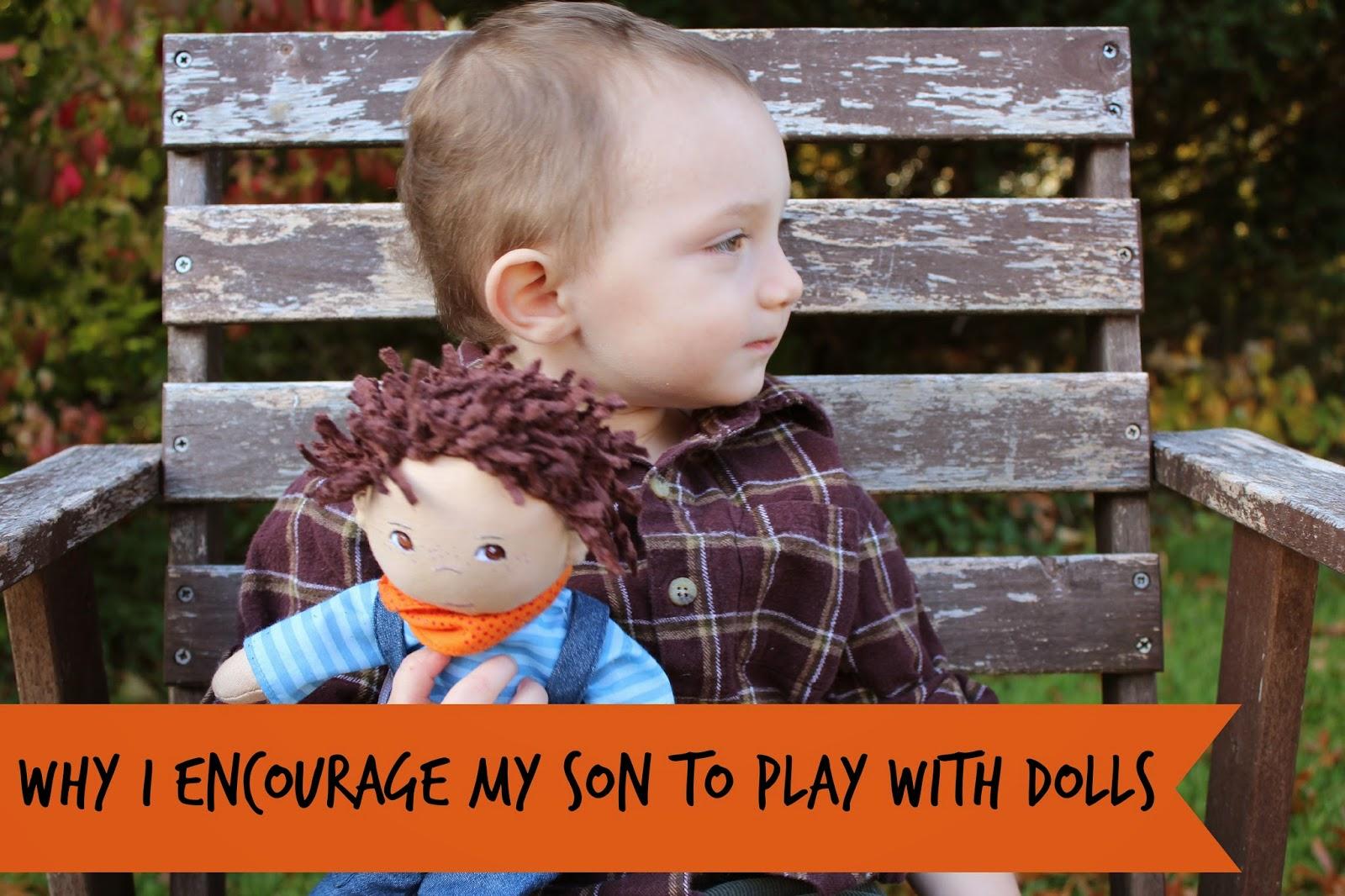 Why My Boy Plays with dolls?