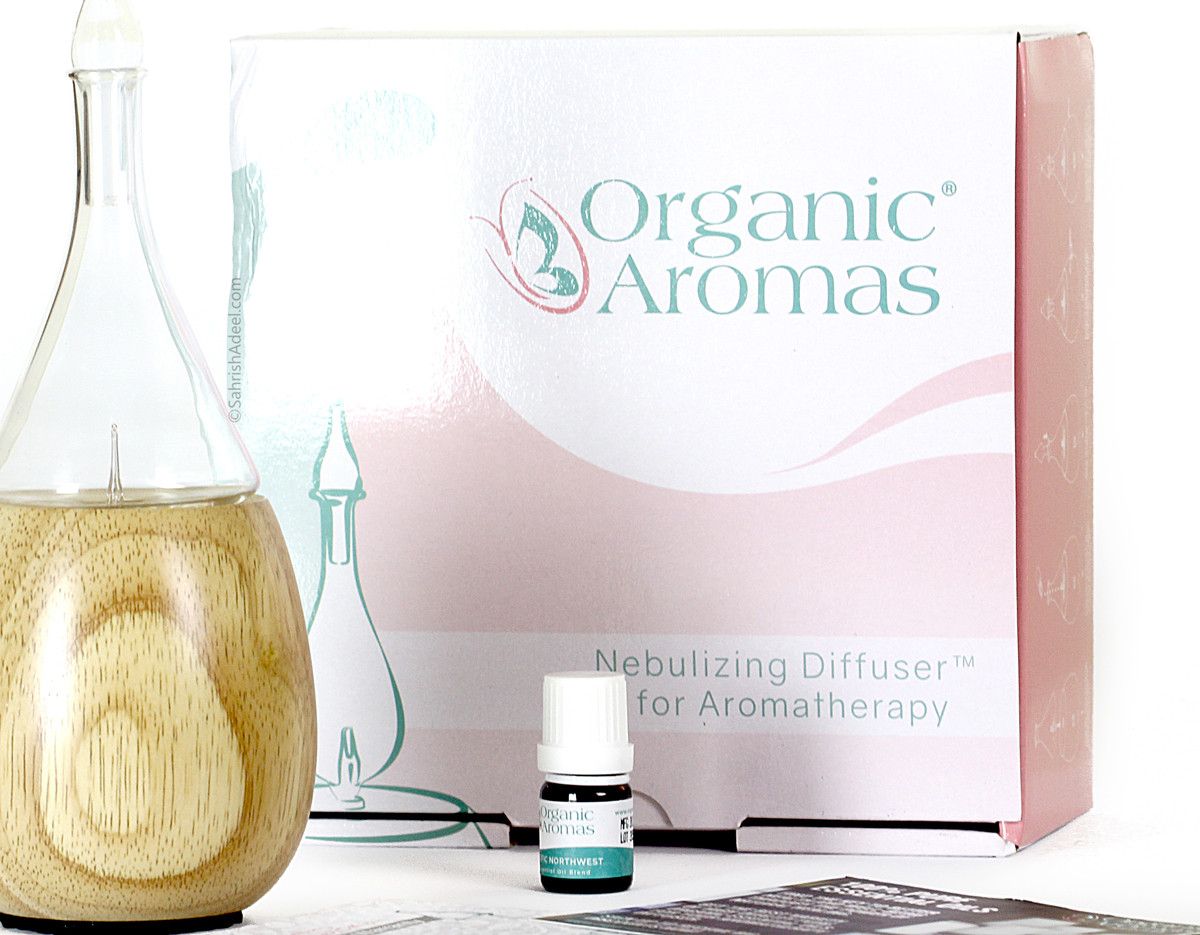 Raindrop Nebulizing Diffuser by Organic Aromas - Review & Discount Code