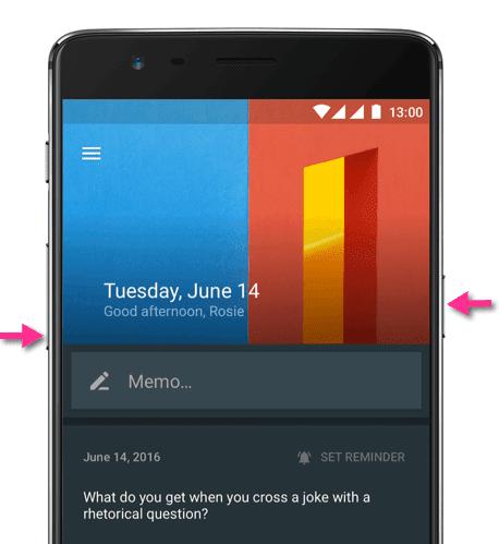 Come fare foto schermo OnePlus 3