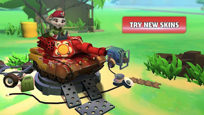 PvPets: Tank Battle Royale Apk for Android Free Downlaod