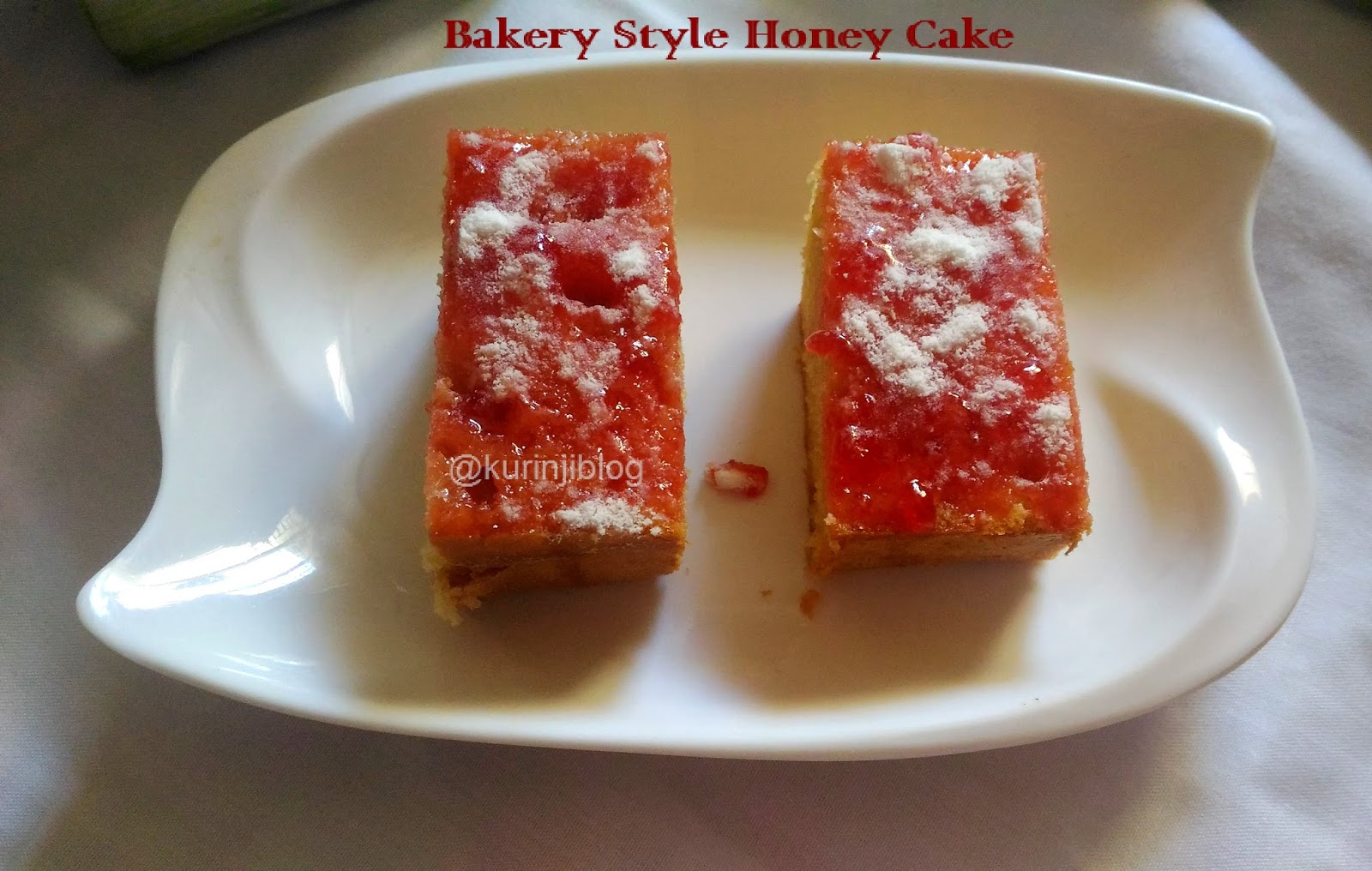 Eggless Honey Cake Recipe By Sanjeev Kapoor