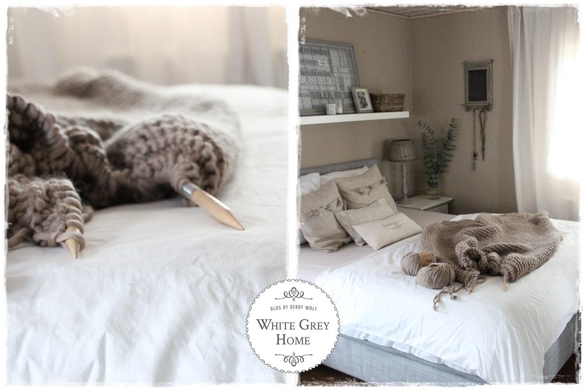 whitegreyhome : Neue Farbe im Schlafzimmer