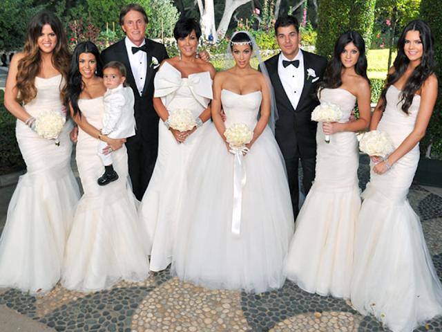 madrinhas casamento kardashian