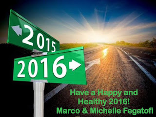 Happy 2016. Marco & Michelle Fegatofi