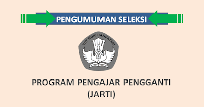 Pengumuman Kelulusan Hasil Seleksi JARTI (Pengajar Pengganti)