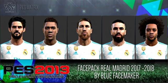 Facepack Real Madrid PES 2013