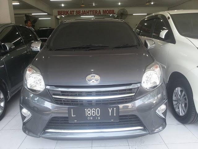 harga Toyota Agya G tahun 2015 matic