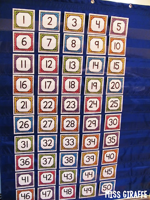 Check out this trick for using your numbers chart as a classroom management strategy!