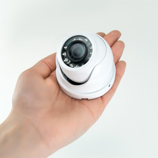 mini telecamera dome ahd 2.0mp 12led 2.8mm