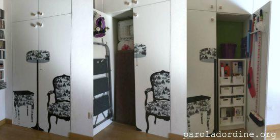 Paroladordine alessandra noseda una stanza al mese 11 for Armadio ripostiglio ikea