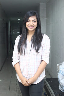 Actress Madonna Sebastian Pictures in Jeans at AGS Entertainment Production No 18 Movie Pooja 0002