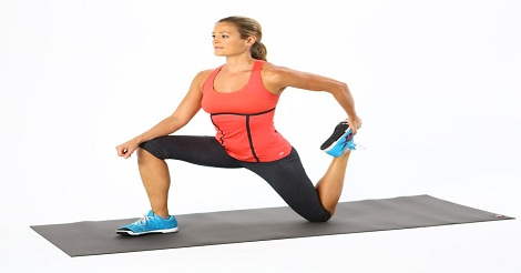 Kneeling stretch
