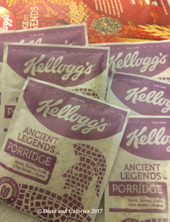 Kellogg's Ancient Legends Porridge Sachets