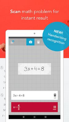Kerjakan Soal Matematika Dengan Aplikasi Android Photomath