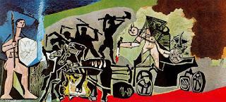 Пабло Пикассо. Война и мир. 1952