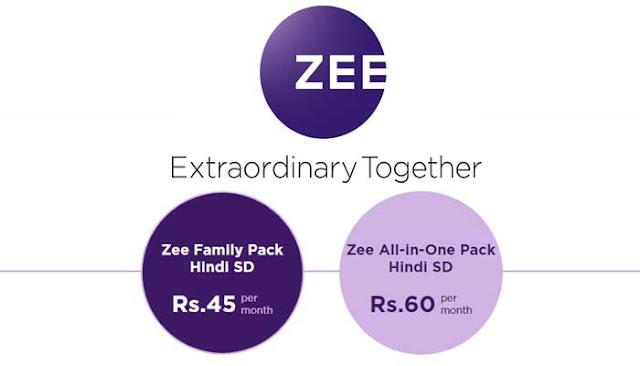Zee Value Pack Channel List