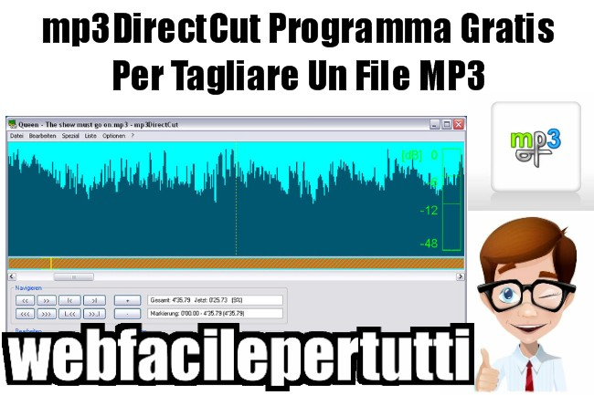 Programma Gratis Per Tagliare Un File MP3