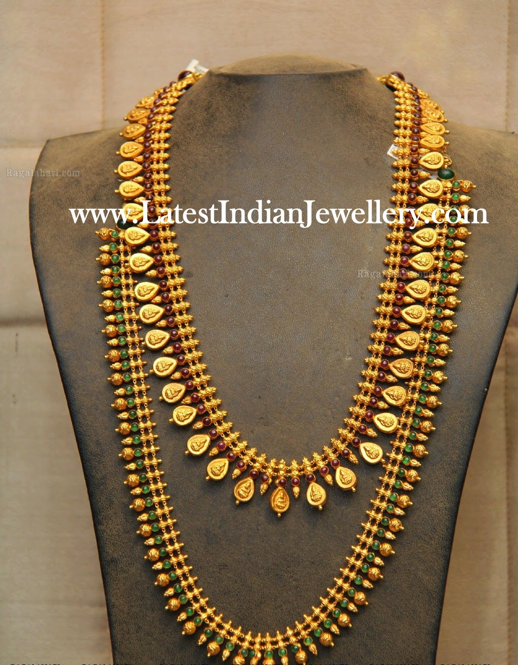 Reversible Kasu Mala And Mullamottu Haram Latest Indian