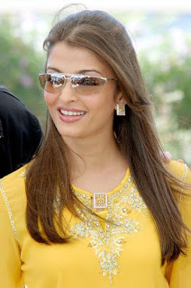 Aishwarya Rai Lemon Yellow Dress