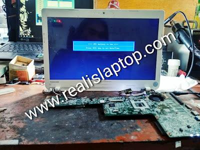 service laptop toshiba c40 mati total di malang