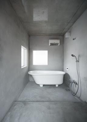 แบบห้องน้ำปูนไม่มีสี