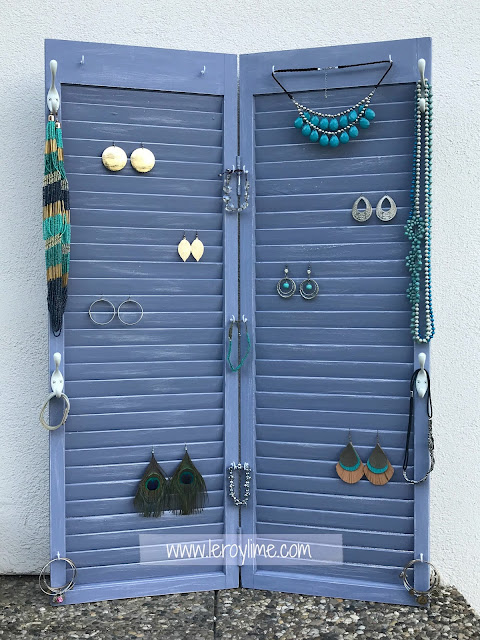 DIY Jewelry Holder - Upcycled - LeroyLime