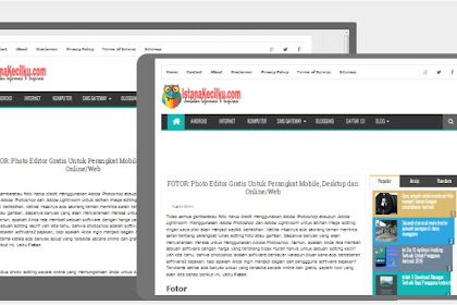 FOTOR: Photo Editor Gratis Untuk Perangkat Mobile, Desktop dan Online/Web