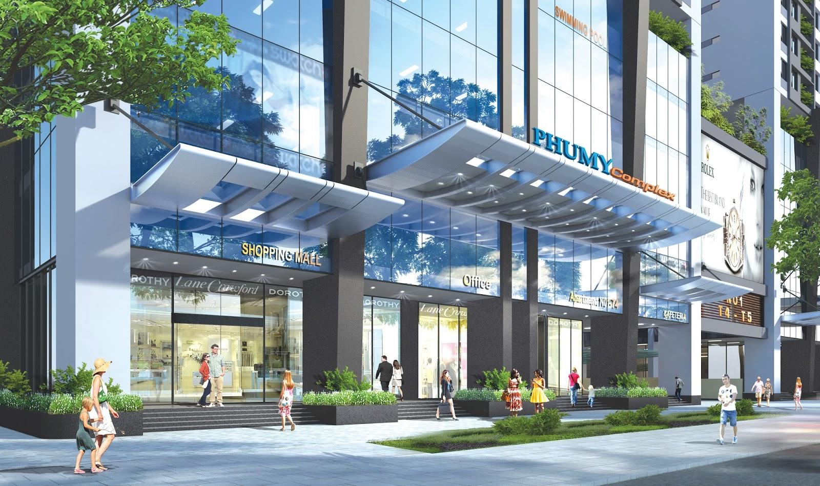 Mở bán đợt 2 chung cư Phú Mỹ Complex