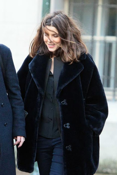Charlotte Casiraghi visited Cartier exhibition at the Grand Palais in Paris
