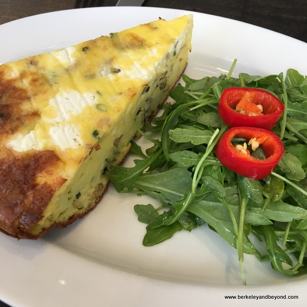 frittata at The Dorian in San Francisco, California
