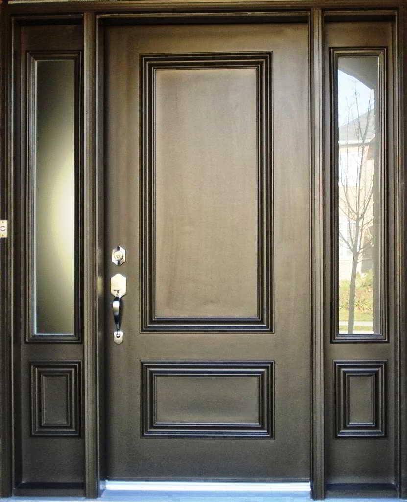 ⊕ 33+ model pintu utama & daun pintu rumah minimalis modern terbaru