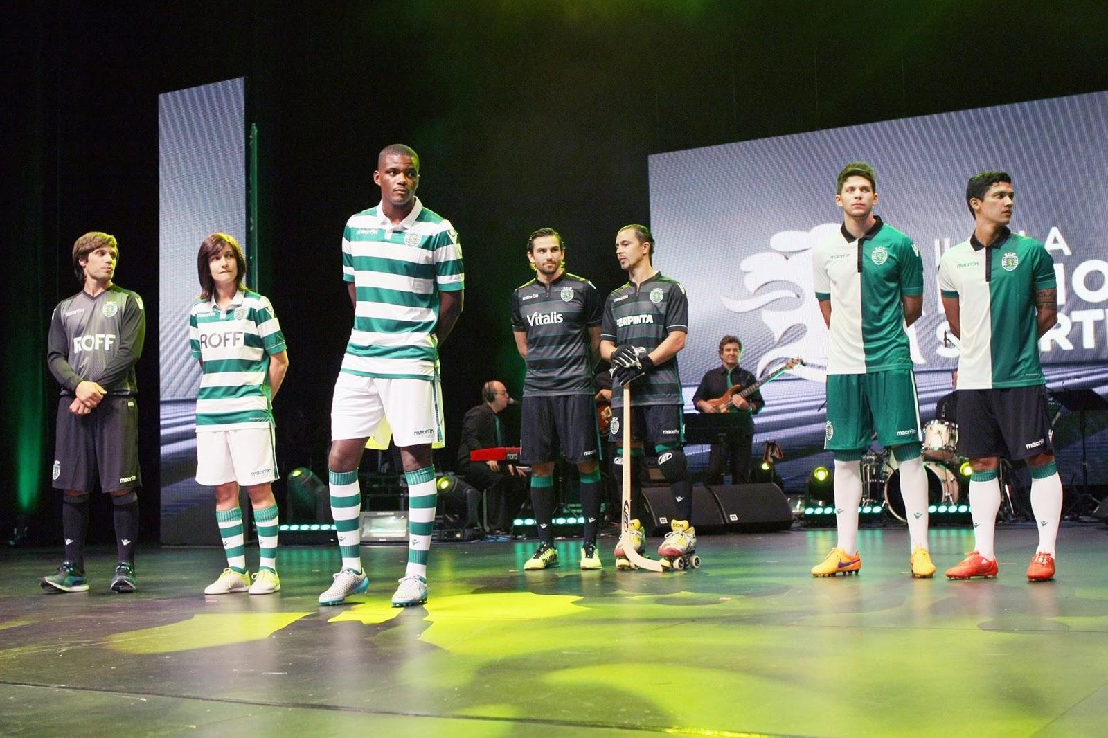 Sporting 15-16 Kits Released - Footy Headlines