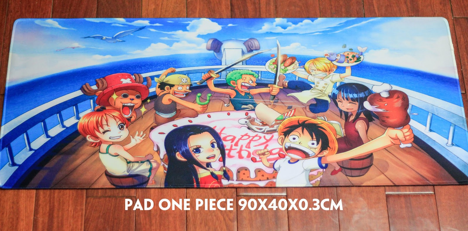 Gamming Mousepad: One piece, CS, CF, LMHT, Doraemon, Naruto, Dota2!!! - 3