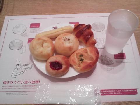 パン食べ放題ブレッドバー¥421 バケットイオンモール木曽川キリオ店16回目