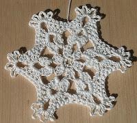 Free Crochet Snowflake