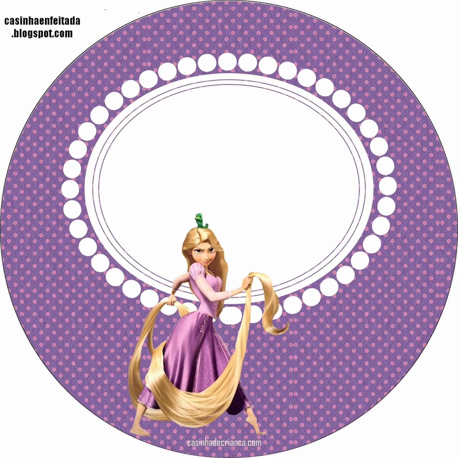 Casinha De Crianca Kit Festa Enrolados Rapunzel Para Imprimir Gratis