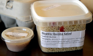 Graze - Ready-made quinoa salad