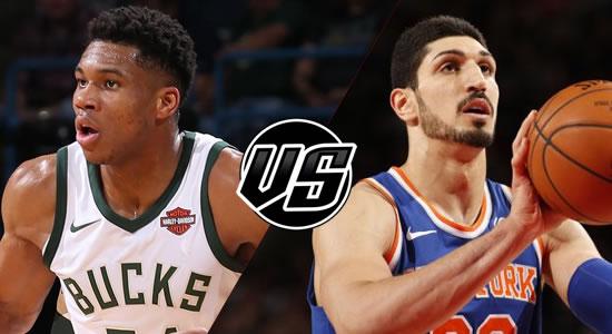 Live Streaming List: Milwaukee Bucks vs New York Knicks 2018-2019 NBA Season